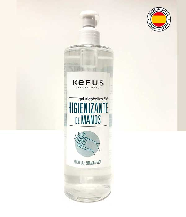KEFUS gel hidroalcoholico