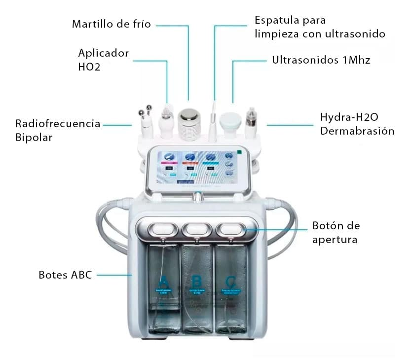 maquina para limpieza facial hydra